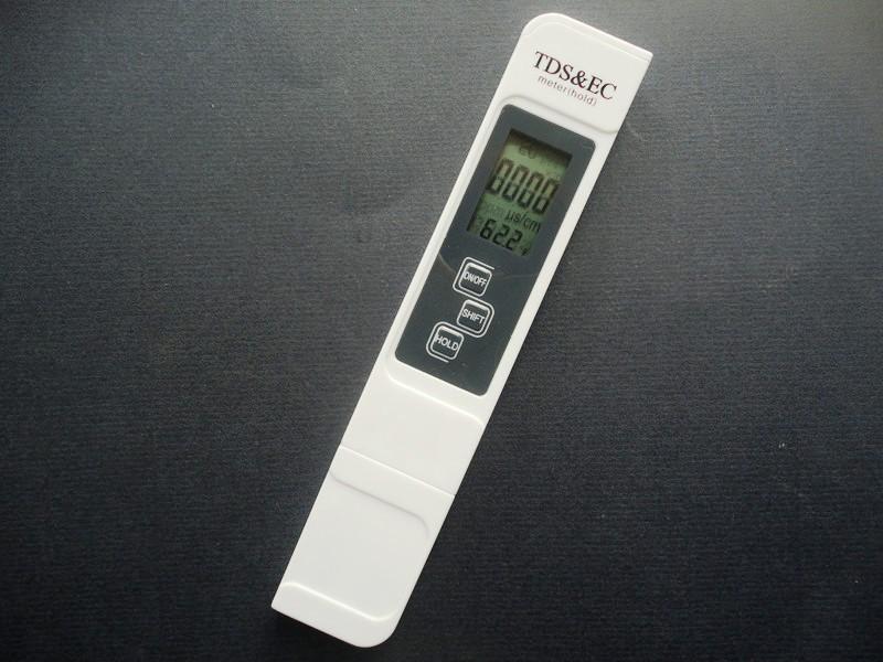 เครื่องวัดสารอาหารในน้ำ - EC & TDS Meter