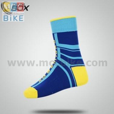 ถุงเท้าจักรยาน ถุงเท้าปั่นจักรยาน แบบยาว CYCLING BOX L5