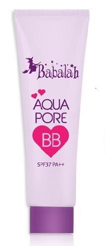 Babalah Aqua Pore BB SPF37 PA+++ บีบีบาบาล่า สินค้าใหม่ขายดีค่ะ