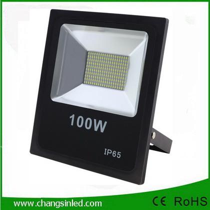 โคมไฟ LED Slim Flood Light Eco Series 100w