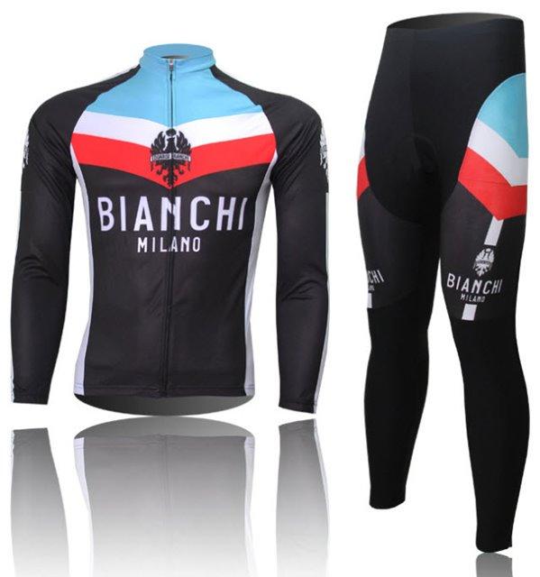 ชุดปั่นจักรยาน แขนยาว Bianchi ขนาด XL พร้อมส่ง ฟรี EMS