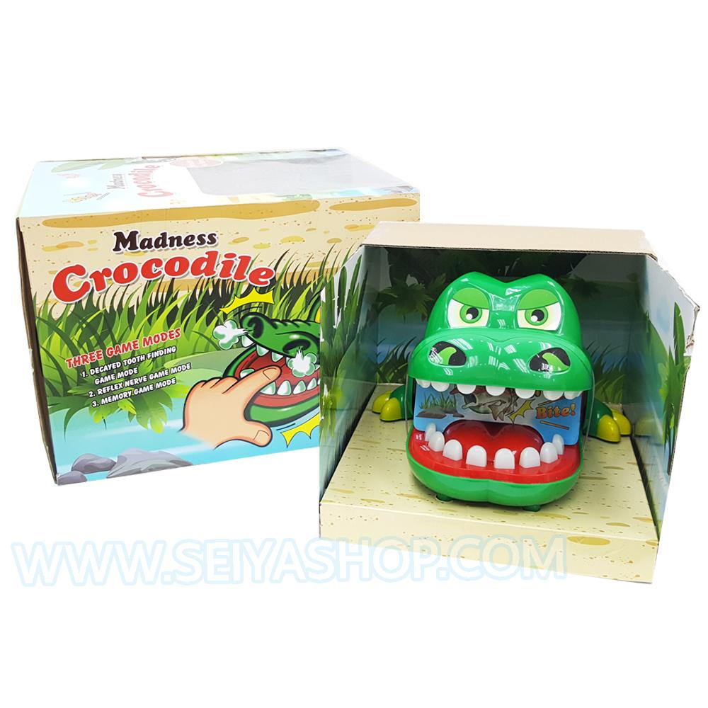 BO080 Madness Crocodile จระเข้งับนิ้ว รุ่น JUMBO ของเล่น เสริมพัฒนาการ และ IQ EQ