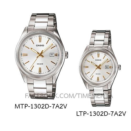 Casio MTP-1302D-7A2V+LTP-1302D-7A2V