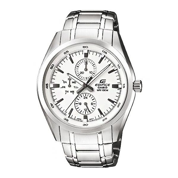 นาฬิกาข้อมือ CASIO EDIFICE MULTI-HAND รุ่น EF-338D-7AV
