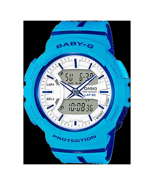 นาฬิกาข้อมือ CASIO BABY-G FOR RUNNING SERIES รุ่น BGA-240L-2A2