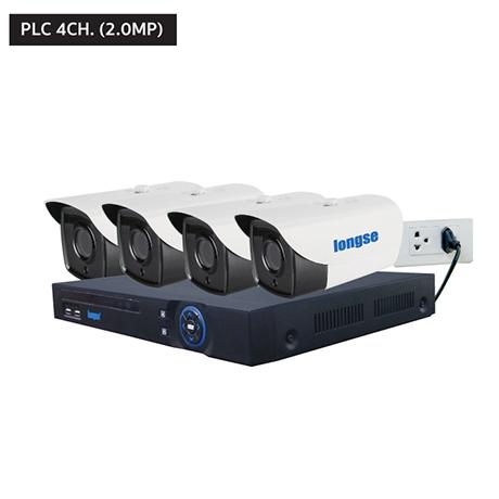 กล้องวงจรปิดลองเซ่ PLC 4CH. (1.0MP)