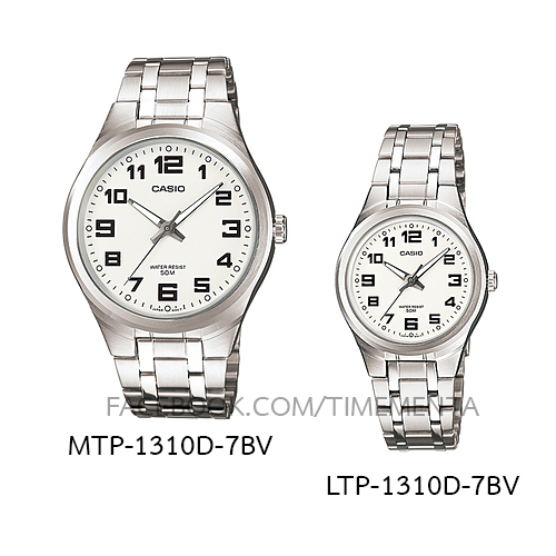 Casio MTP-1310D-7BV+LTP-1310D-7BV