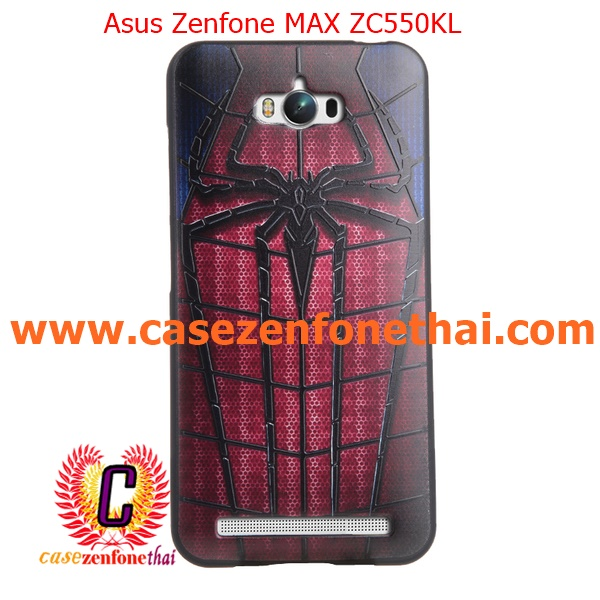 เคส asus zenfone max zc550kl TPU พิมพ์ลาย 3D SPIDERMAN