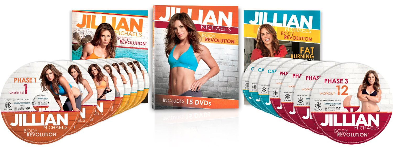 Jillian Michaels Body Revolution 15 workout VDO