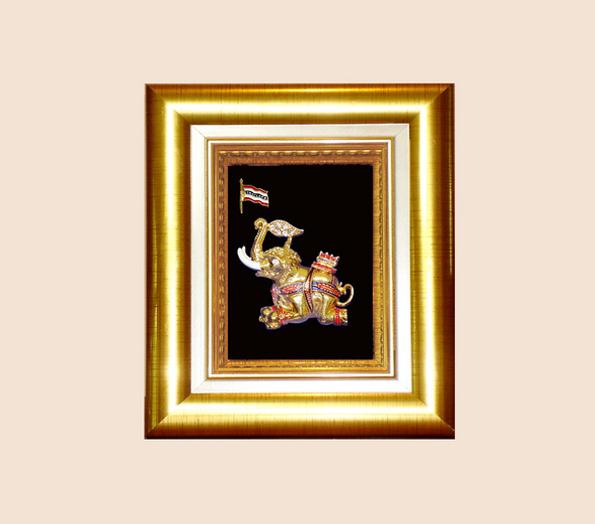 ของที่ระลึก กรอบทองลายไทย A19 G (ขนาด : 5 x 6 นิ้ว )