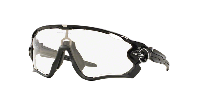 OAKLEY OO9290 929014 POLISHED BLACK Clear To Back Photochromic