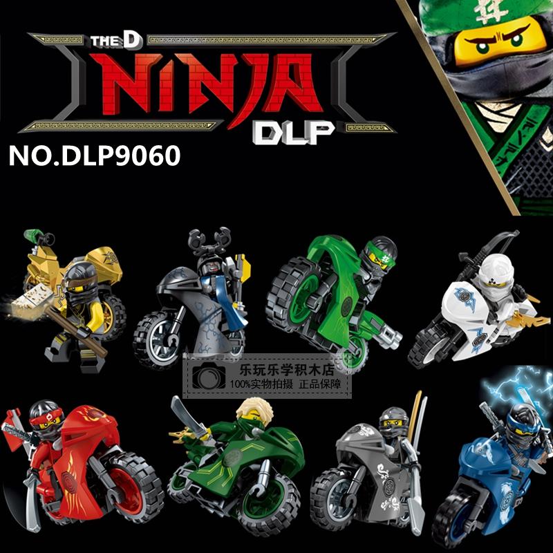 เลโก้จีน DLP.9060 ชุด Ninja Go Movie มอเตอร์ไซต์