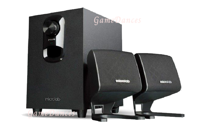Microlab M-108 2.1 Speaker System 10 Watt