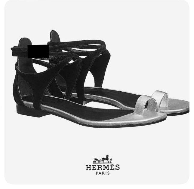 รองเท้าแตะแฟชั่น สวมนิ้วโป้ง รัดข้อ สายไขว้ข้อเท้า สไตล์แอร์เมส งานสวย ชน shop หนัง PU ตะขอเกี่ยวใส่ง่าย แมทส์ชุดง่าย ใส่สบาย น้ำหนักเบา หนังนิ่ม ทรงสวย ใส่สบาย แมทสวยได้ทุกชุด ดำ ขาว ครีม (G-1332)