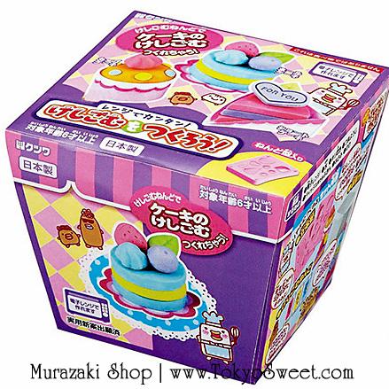 พร้อมส่ง ** Kutsuwa Eraser making kit -CAKE- ชุดทำยางลบ เซ็ตขนมเค้ก ชุดประดิษฐ์ยางลบใช้เองส่งเสริมการเรียนรู้ น่ารักมากๆ เลยค่ะ ใช้แค่น้ำและเตาไมโครเวฟก็สามารถทำเองได้ง่ายๆ แล้วค่ะ