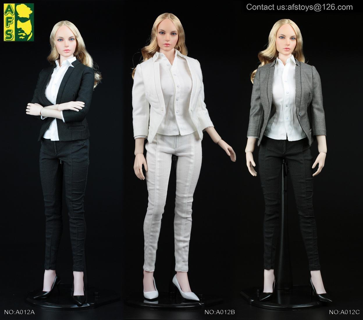 AFS TOYS A012 Women's slim suit