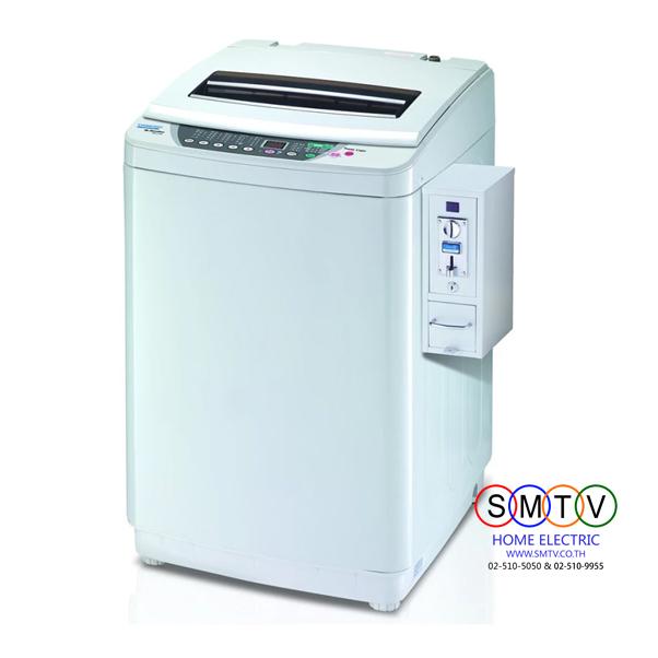 TRIMOND เครื่องซักผ้าถังเดี่ยวอัตโนมัติแบบหยอดเหรียญ ขนาด 10 กก. รุ่น TWM-A100A+SM4 จัดส่งฟรีกทม.และปริมณฑล