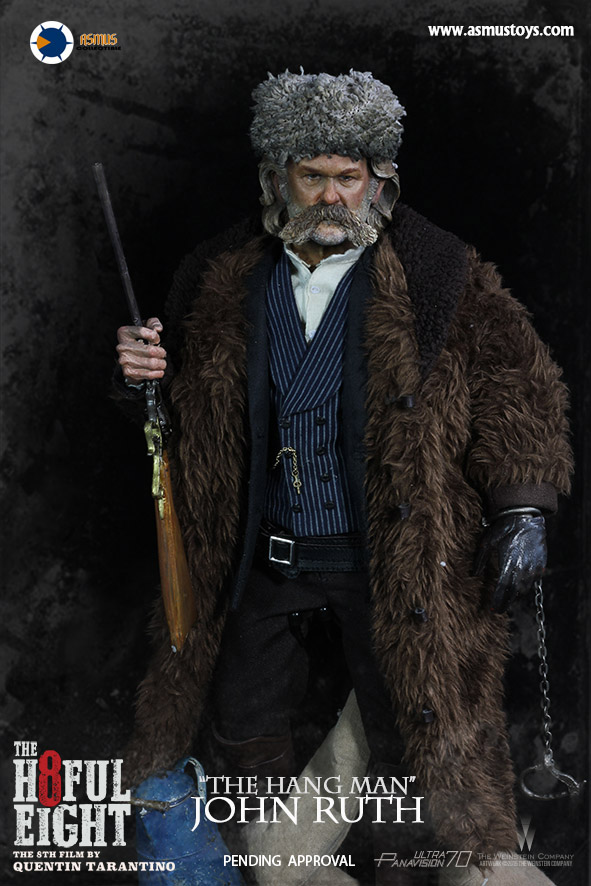 "Asmus Toys H801 The Hateful Eight - ""The Hang Man"" JOHN RUTH"