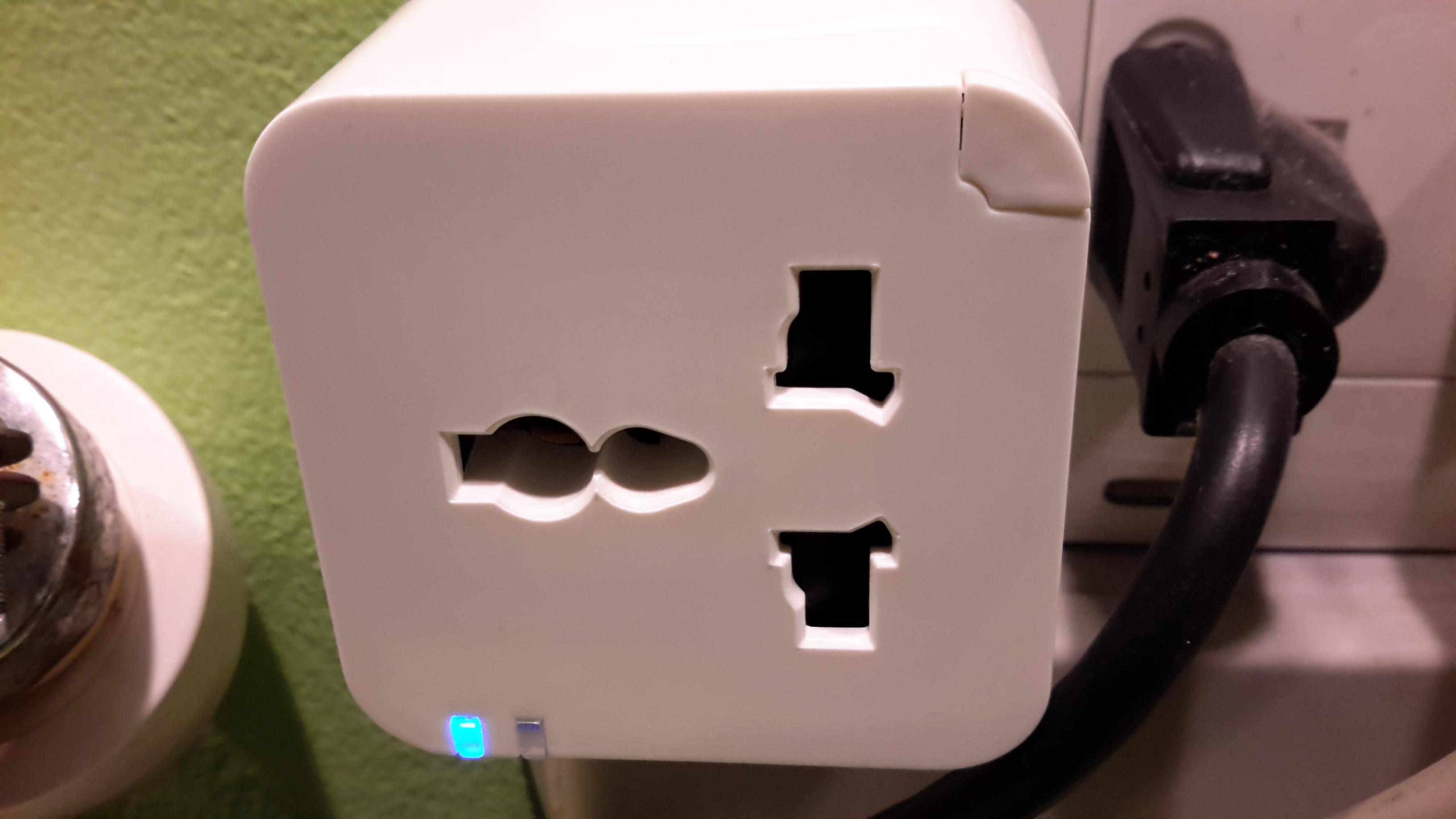 ปลั๊กควบคุมการเปิดปิดอุปกรณ์ไฟฟ้าด้วยมือถือ smart wifi plug