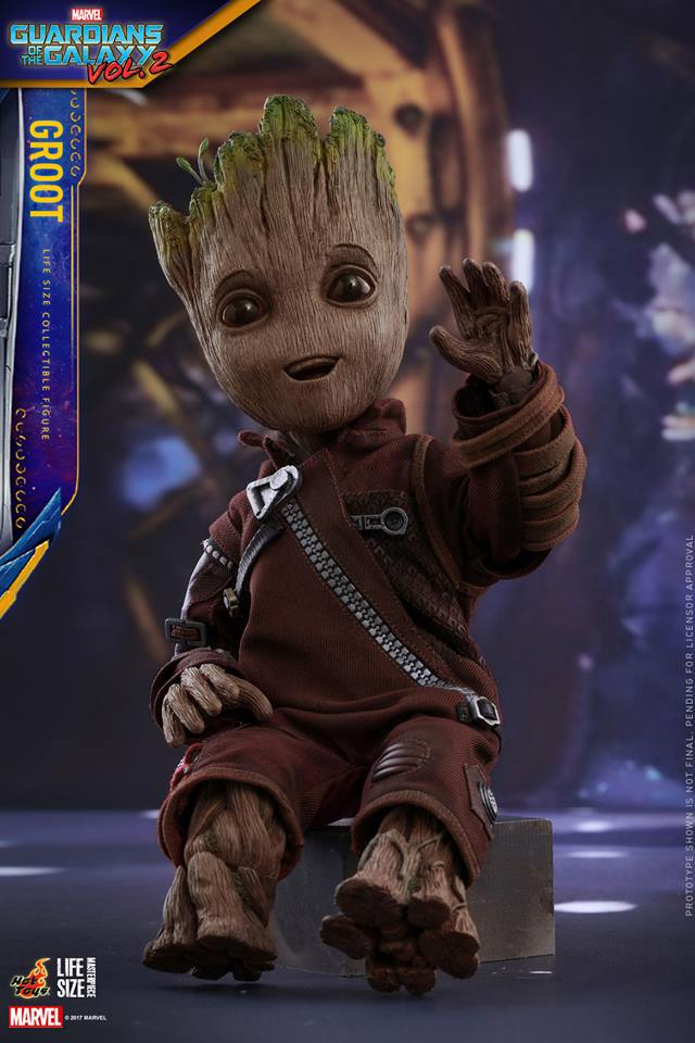 Hot Toys LMS004 GUARDIANS OF THE GALAXY VOL. 2 - GROOT (LIFE-SIZE)