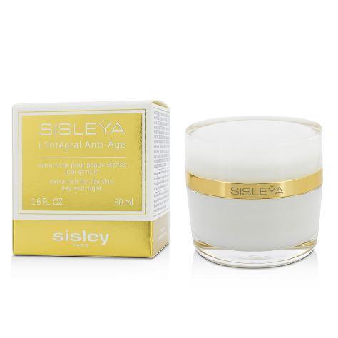 **พร้อมส่ง**Sisley Sisleya L'Integral Anti-Age Day and Night Cream - Extra Rich For Dry Skin 50ml. สำหรับผิวแห้งมาก ครีมบำรุงผิวสูตรใหม่ล่าสุดจาก SIsley ปรับปรุงจากสูตรเดิม Sisleya Global Anti-Ageช่วยลดเลือนริ้วรอยแบบพรีเมี่ยม ทั้งปกป้อง ฟื้นฟูผิวให้