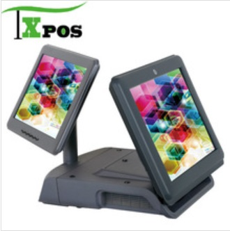 2screen pos system/pos system/dual screen pos system