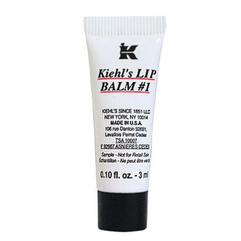 **พร้อมส่ง**Kiehl's Lip Balm #1 ขนาดทดลอง 3ml. สุดยอดลิปบาล์มที่ได้รับความนิยมมาอย่างยาวนานตั้งแต่ปี 1969 ถือเป็นอีกหนึ่งผลิตภัณฑ์ขายดีอันดับ 1 ของ Kiehl's ช่วยฟื้นฟูริมฝีปากที่แห้งแตก ลอก เป็นขุย ด้วยสารสกัดจากธรรมชาตินานาชนิด ทั้ง Squalane, La