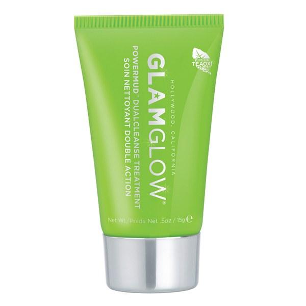 **พร้อมส่ง**Glamglow Powermud Dual Cleanse Treatment 15 g. (No box) มาส์กโคลนดีท็อกซ์ผิว พิเศษกว่าพี่น้องแกลมโกลวสีอื่นๆตรงที่ พอทาแล้วนวดๆ มันจะละลายมาอยู่ในรูปน้ำมันค่ะ ทางแบรนด์นางออกแบบผลิตภัณฑ์ให้ซึมลึกเข้าสู่รูขุมขนและละลายเอาสิ่งสกปรกที่อุดตันที่ติ