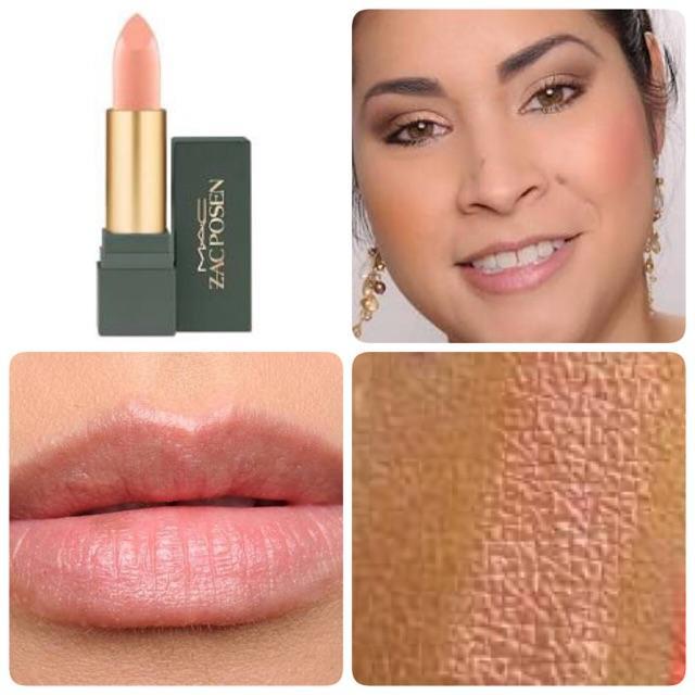**พร้อมส่ง**M.A.C Zac Posen Lustre Lipstick # Sheer Madness (Limited Edition) เนื้อลัสเตอร์ประกายแววาวสีนู้ด ลิปสติกคอลเลคชั่นใหม่รุ่นลิมิเต็ด ที่ได้ดีไซเนอร์ชื่อดัง Zac Posen ,