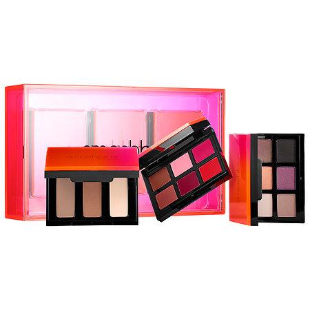 **พร้อมส่ง**Smashbox Light It Up 3 Palette Set: Eyes Contour Lips Limited Edition เซ็ทสุดคุ้ม อายแชโดว์ และ ลิปสติก เนื้อดีติดทน ทาแล้วเนียน ที่ทำให้คุณดูสว่างและโดดเด่นขึ้นพร้อมทั้ง Contour Hightlight ที่ทำให้ดูมีมิติยิ่งขึ้น ,