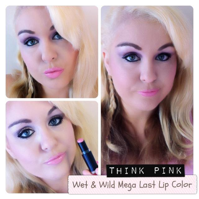 **พร้อมส่ง** Wet n Wild Mega Last Lip Color # 901B Think Pink ลิปสติกเนื้อแมทสีชมพูอมส้ม เป็นลิปสติกจาก Drugstore ของอเมริกา กลบสีปากมิด ติดทนนานไม่เป็นคราบ พิกเม้นต์เกินราคา