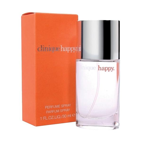 **พร้อมส่ง**Clinique Happy Perfume Spray ไซส์จริง 30ml. น้ำหอมกลิ่นสดชื่นจากพืชตระกูลส้ม ช่วยเติมความสดใส สนุกสนาน ร่าเริง สามารถใช้ได้ทั้งชายและหญิง ถือเป็นกลิ่นยอดนิยมที่มียอดขายสูงสุดตลอดกาล ,