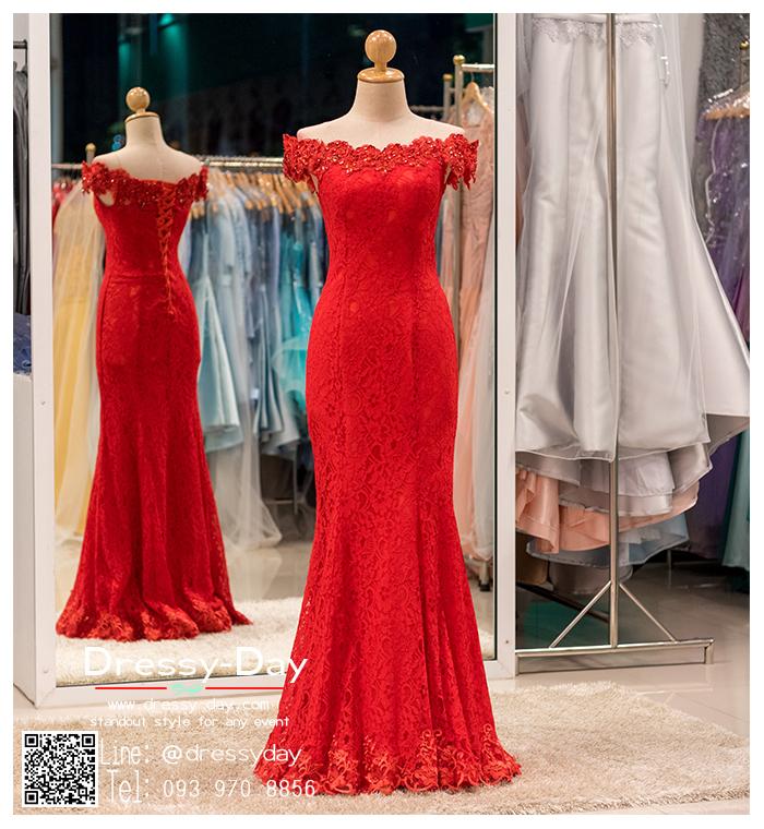 รหัส ชุดราตรีคนอ้วน : BB014 ชุดราตรียาวสีแดง ชุดไปงานแต่งตกแต่งกริตเตอร์ ชุดแซกพร้อมส่ง ใส่เป็นชุดเดรสออกงานสวยมากๆ ค่ะ