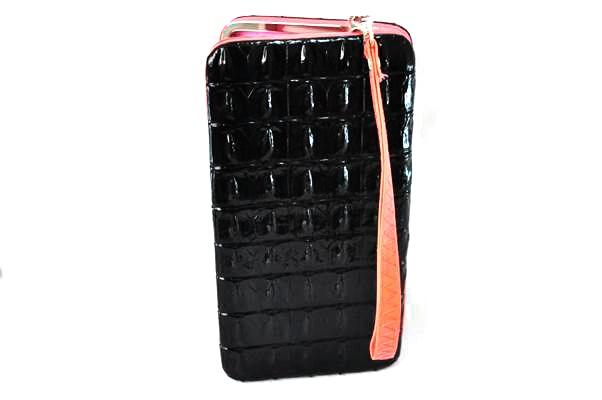 กระเป๋าสตางค์ ใส่มือถือได้ samsung ,iPhone หนังแก้ว