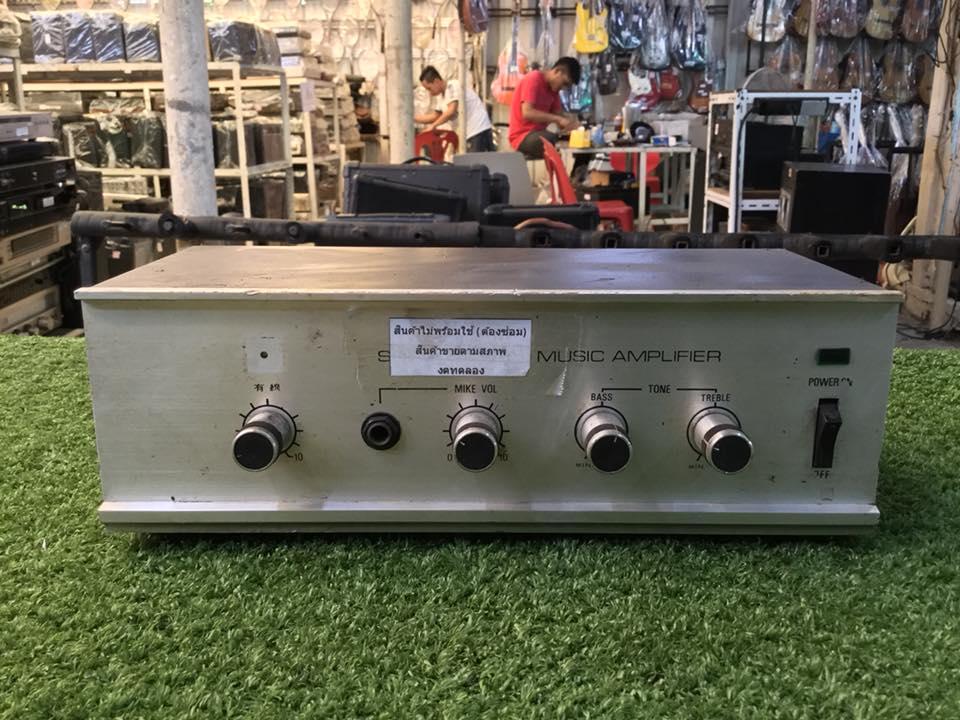 เครื่องขยายเสียง MUSIC AMPLIFIER TAT-122A สินค้าไม่พร้อมใช้งาน (ต้องซ่อม)
