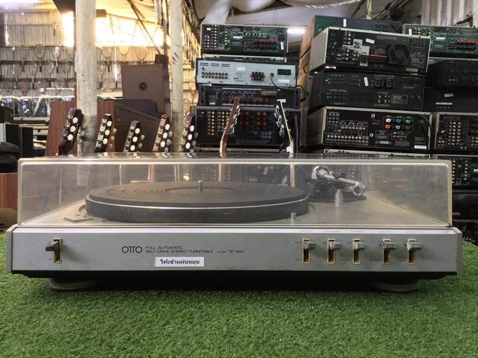 เครื่องเล่นแผ่นเสียง SANSUI OTTO TP-S50