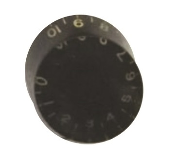 วอลุ่มกีต้าร์ไฟฟ้า สีดำตัวหนังสือทอง LP Speed Knob LPS-05 Style