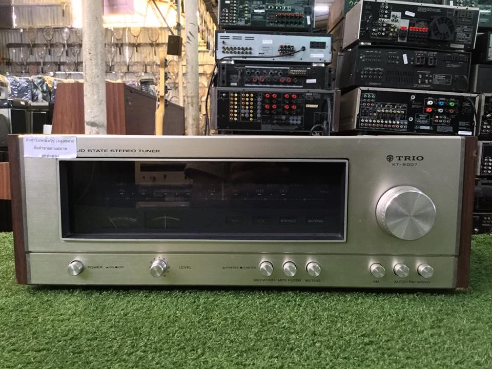 วิทยุ FM AM TRIO KT-5007 สินค้าไม่พร้อมใช้งาน (ต้องซ่อม)