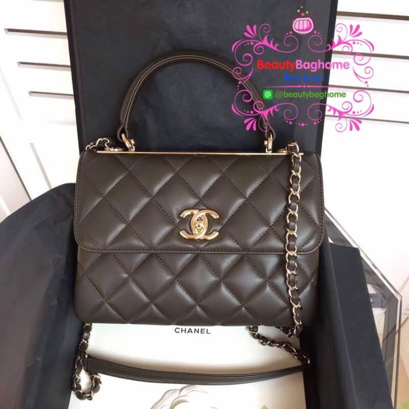 Chanel Trendy CC bag สีน้ำตาล งานHiend Original