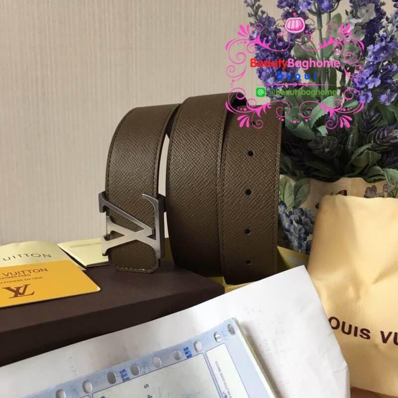 Louis vuitton belt สีเทา งานHiend Original