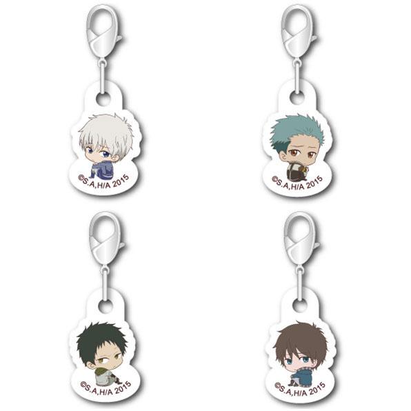 "Snow White with the Red Hair - ""Bocchi-kun"" Nano... Acrylic Charm Set(Pre-order)"