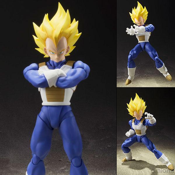 """S.H. Figuarts - Super Saiyan Vegeta """"Dragon Ball Z""""(Pre-order)"""