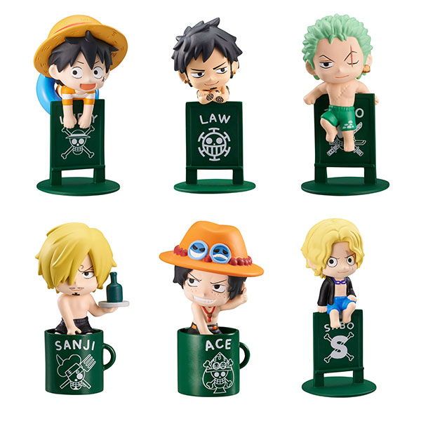 Ochatomo Series - ONE PIECE Kaisoku-tachi no Bakansu 8Pack BOX(Pre-order)