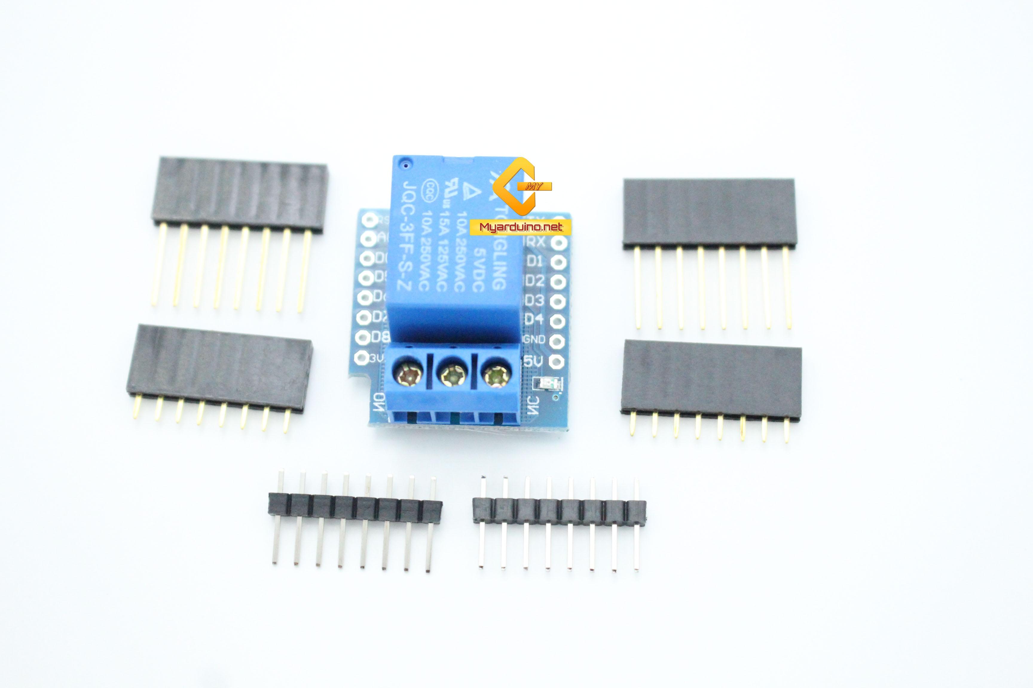 WeMos Relay Shield for WeMos D1 Mini