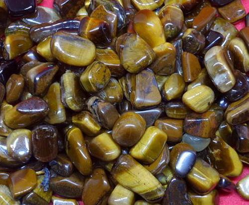 หินมงคลสีน้ำตาล หินไทเกอร์อาย