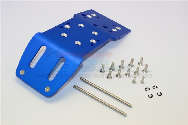 ALLOY FRONT SKID PLATE WITH SCREWS & PINS & ALLOY COLLARS - 1PC SET (SAV, SAX)