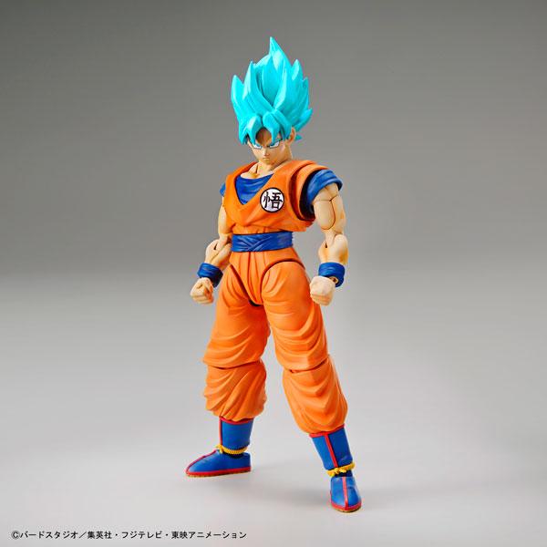 "Figure-rise Standard - Super Saiyan God Super Saiyan Son Goku Plastic Model ""Dragon Ball Super""(Pre-order)"
