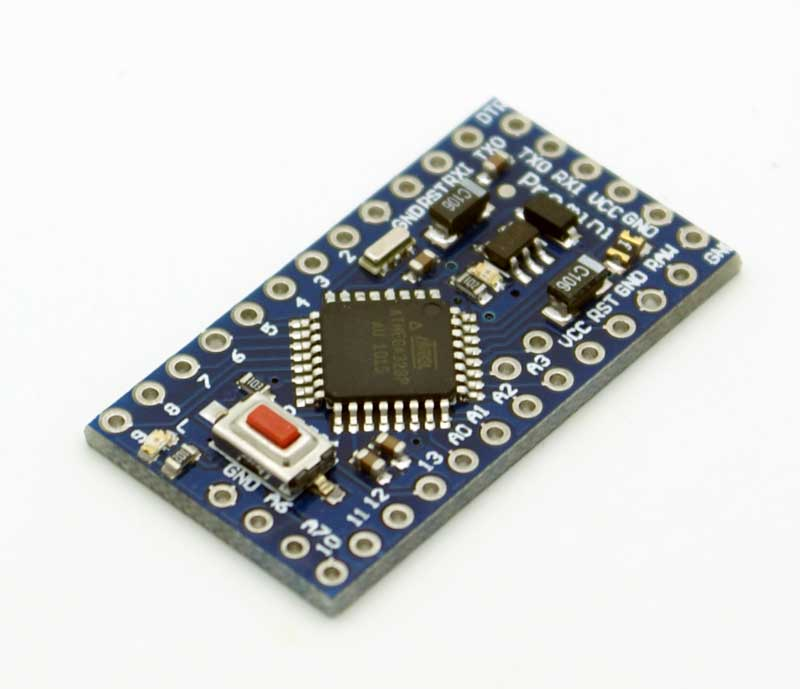 Arduino Pro Mini 328 - 5V/16MHz พร้อม Pin Header Arduino Pro mini