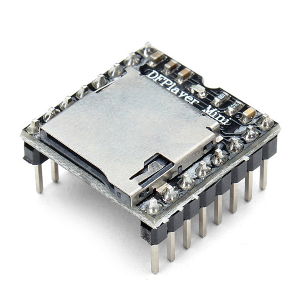 DFPlayer Mini MP3 Player Module For Arduino โมดูลเล่นเพลง MP3