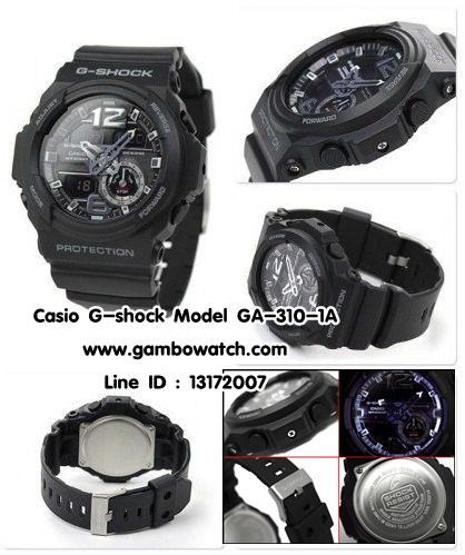 นาฬิกา คาสิโอ Casio G-Shock Standard Analog-Digital รุ่น GA-310-1A